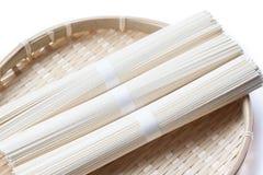 Tagliatelle giapponesi Fotografia Stock