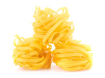 Tagliatelle italian pasta Royalty Free Stock Images