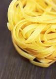 Tagliatelle italian pasta Royalty Free Stock Image