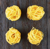 Tagliatelle italian pasta Stock Photography