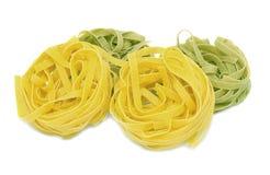 Tagliatelle italiano de las pastas Imagen de archivo