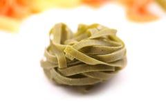 Tagliatelle paglia e fieno tipycal italian pasta Royalty Free Stock Image