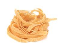 Tagliatelle paglia e fieno tipycal italian pasta. Royalty Free Stock Photos