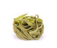 Tagliatelle paglia italian pasta. Royalty Free Stock Image