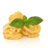 Tagliatelle Pasta Stock Photo