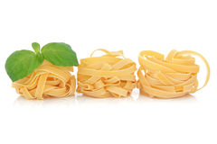 Tagliatelle Pasta Royalty Free Stock Photography