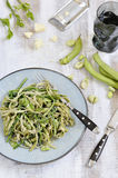 Tagliatelle pasta Fotografering för Bildbyråer