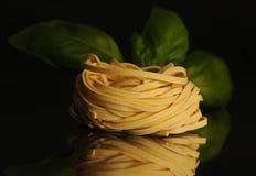 Tagliatelle pasta Royalty Free Stock Photos