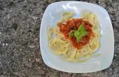 Tagliatelle - Pasta Stock Image