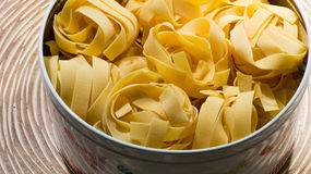 Tagliatelle pasta Royalty Free Stock Photo