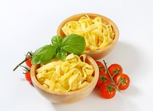 Tagliatelle pasta Stock Photos