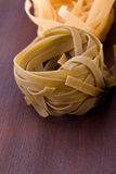Tagliatelle pasta nest Royalty Free Stock Photos