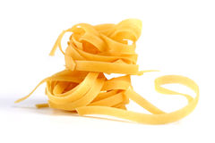 Tagliatelle pasta Royalty Free Stock Photos