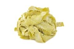Tagliatelle ricotta and spinach Stock Image