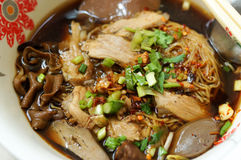 Tagliatelle tailandesi Fotografie Stock