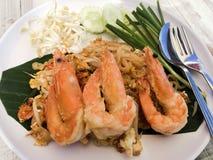 Tagliatelle tailandesi del rilievo immagine stock
