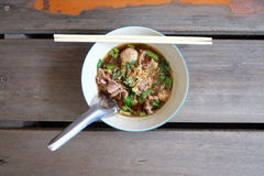 Tagliatelle tailandesi deliziose: Immagini Stock Libere da Diritti