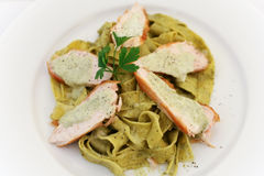 Tagliatelle with veal 2 Stock Photos