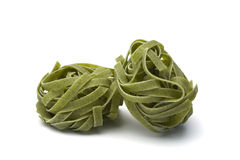 Tagliatelle verde Royalty Free Stock Photo