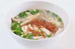 Tagliatelle vietnamite della minestra Fotografia Stock Libera da Diritti