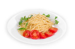 Tagliatelli pasta Stock Photo