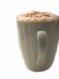 Tagliato del latte al cioccolato caldo squisito Fotografie Stock Libere da Diritti