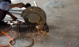 Taglierina d'acciaio immagini stock libere da diritti
