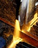 Taglierina d'acciaio Fotografia Stock Libera da Diritti
