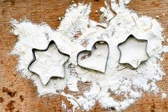 Taglierina del biscotto fotografie stock libere da diritti