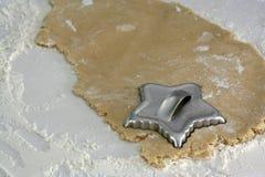Taglierina del biscotto Fotografia Stock Libera da Diritti