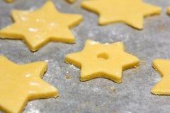 Taglierina del biscotto Immagini Stock