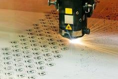 Taglierina del laser Fotografia Stock Libera da Diritti