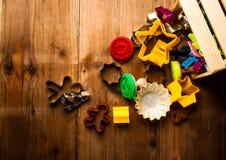 Taglierine del biscotto Fotografie Stock Libere da Diritti