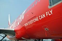 tagline της Ινδονησίας airasia Στοκ Φωτογραφίες