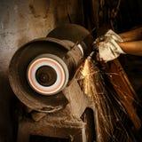 Taglio abrasivo fotografia stock libera da diritti