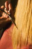 Taglio dei capelli Fotografie Stock Libere da Diritti