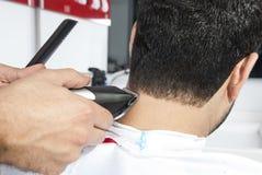 Taglio dei capelli fotografie stock