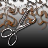 Taglio dei capelli royalty illustrazione gratis