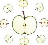 Taglio del Apple Fotografie Stock Libere da Diritti