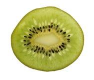 Taglio del Kiwi Fotografie Stock