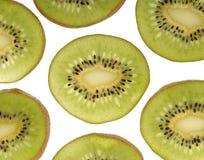 Taglio del Kiwi Fotografia Stock