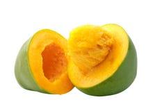 Taglio del mango aperto fotografie stock