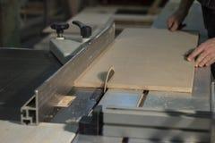 Taglio del materiale di strato Fotografia Stock