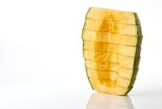 Taglio del melone Immagine Stock Libera da Diritti