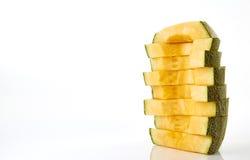 Taglio del melone Fotografia Stock Libera da Diritti