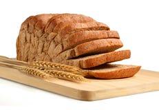 Taglio del pane Fotografia Stock