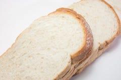 Taglio del pane Fotografie Stock Libere da Diritti