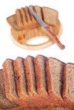 Taglio del pane Fotografia Stock Libera da Diritti