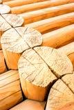 Taglio del primo piano di legno immagine stock