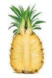 Taglio dell'ananas Fotografia Stock